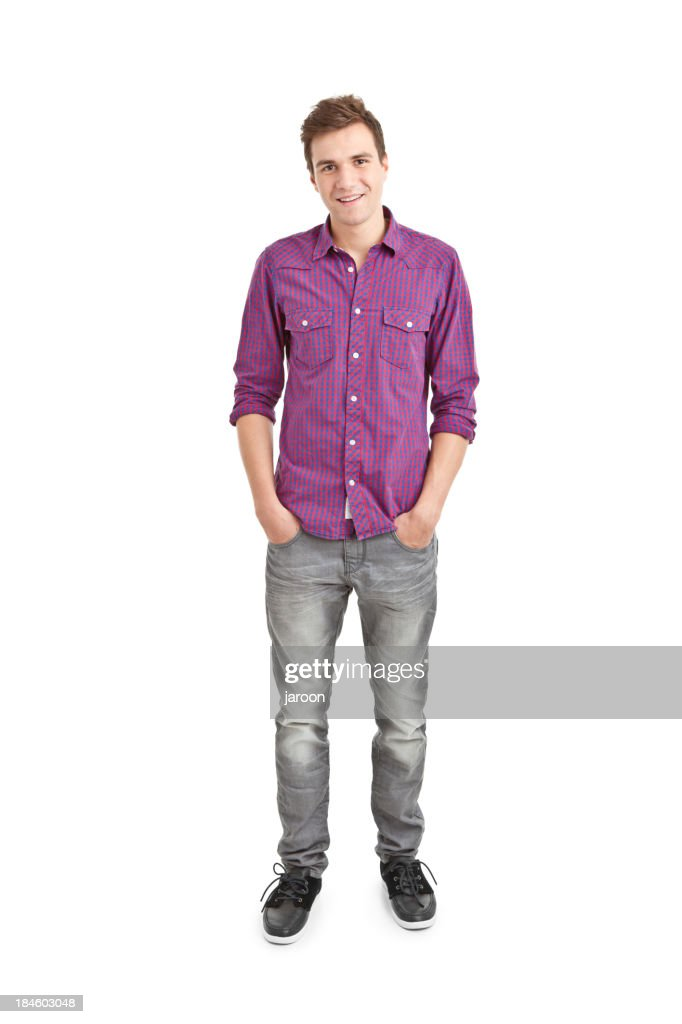 young handsome man : Stock Photo