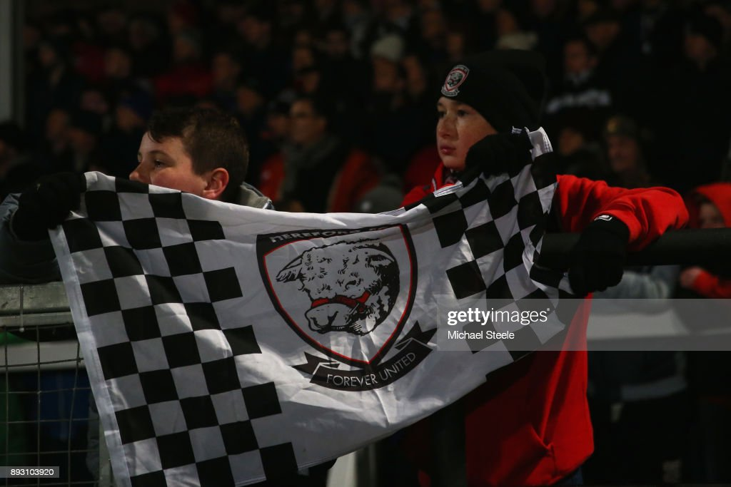 Hereford FC v Fleetwood Town - The Emirates FA Cup Second Round Replay : News Photo