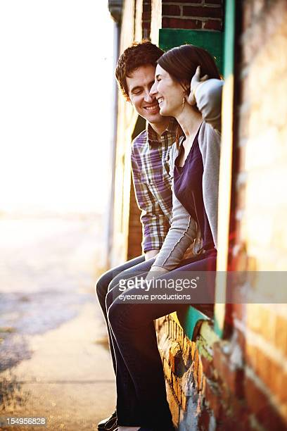young heterosexual couple happiness - eyecrave stock pictures, royalty-free photos & images
