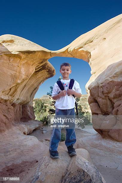 Young Hiker in Southern UT