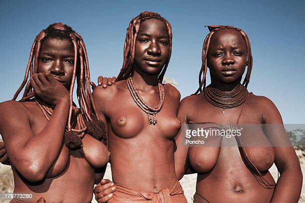 young Himba people