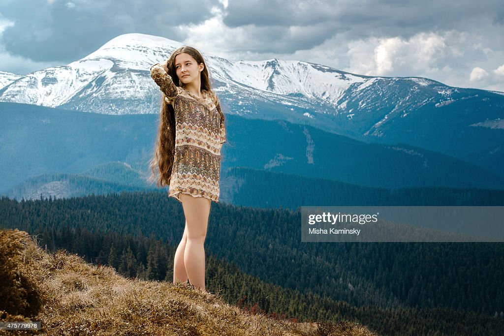 Young hippie : Stock Photo