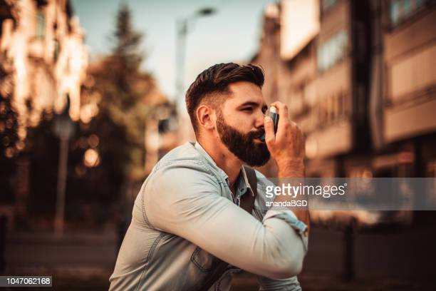 young hipster - copd stock photos and pictures