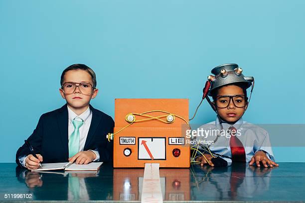 Jovem Empresário honesto é testado com Detetor de Mentira