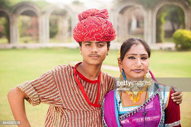 young indian boy and girl posing - actress stock pictures, royalty-free photos & images