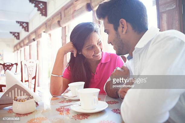 Young Indian Couple on a Date