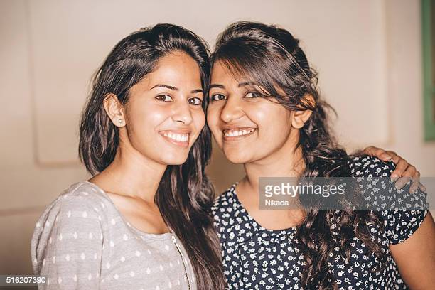 Young Indian Female Friends