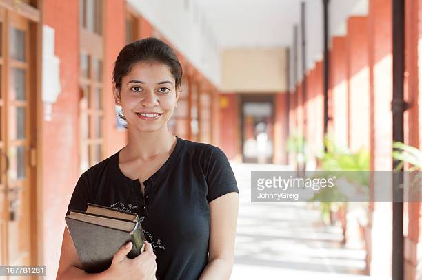 Young Indian Female University Student