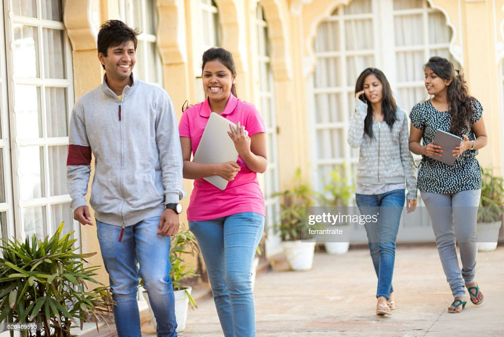 Young Indian High School Students : Stock Photo