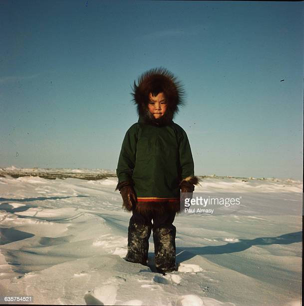 Young Inuit Boy