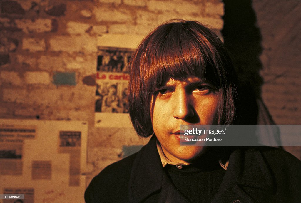 A Young 'Beatnik' : News Photo