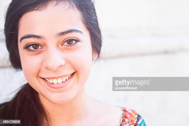 Portrait de jeune femme italien