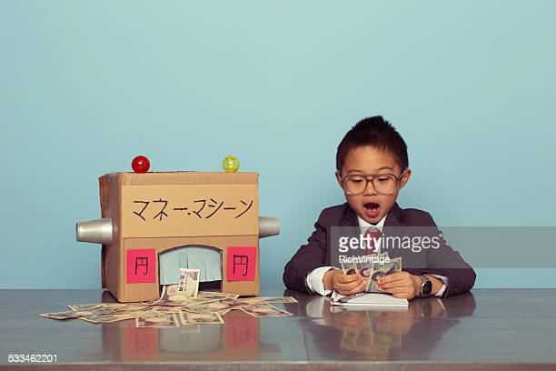 Young Japanese Boy is Making Unexpected Money