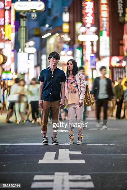 Young Japanese people in Shibuya