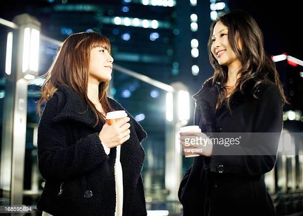 若い女性を東京で