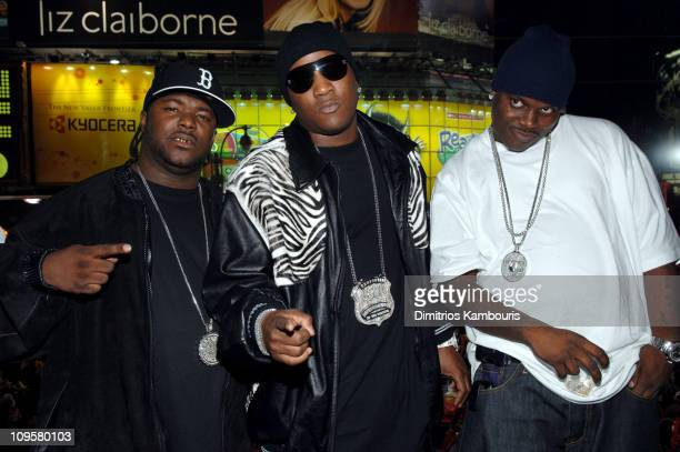 Young Jeezy and guests during New Year's Eve 2006 in New York City MTV New Year's Bash at MTV Studios in New York City New York United States