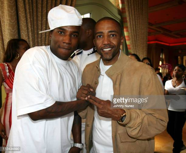 Young Jeezy and Kevin Liles during 2007 NBA AllStar in Las Vegas Kevin Liles Second Annual All Star Brunch at Tableau Wynn Las Vegas in Las Vegas...