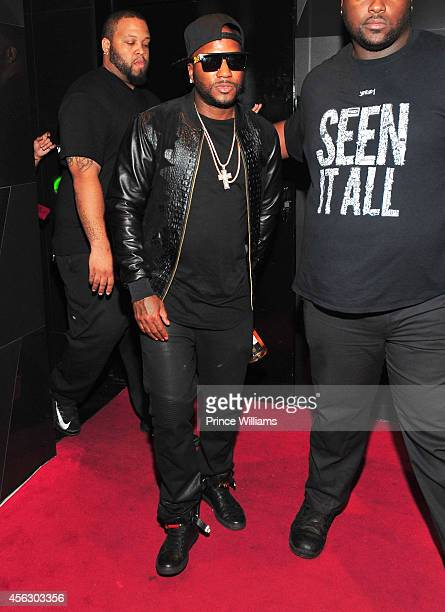 Young Jeezy Attends Gold Room Monday Nights at Gold Room on September 21 2014 in Atlanta Georgia