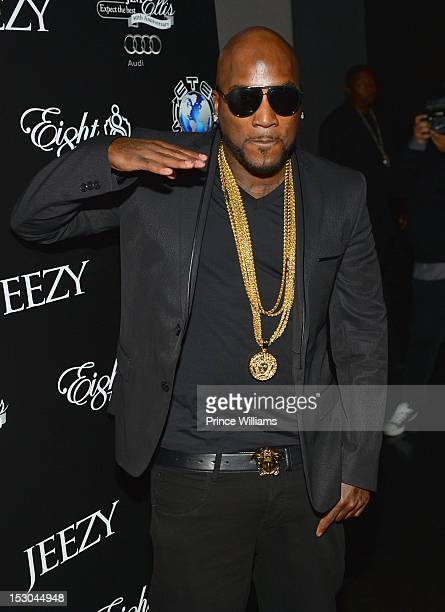 Young Jeezy attends Jeezy's birthday extravaganza at Reign Nightclub on September 28 2012 in Atlanta Georgia