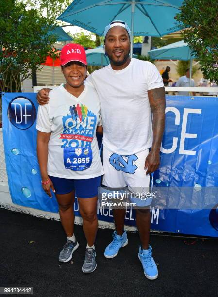 Young Jeezy attends Rehydrate Event at Bar Amalfi on July 4 2018 in Atlanta Georgia