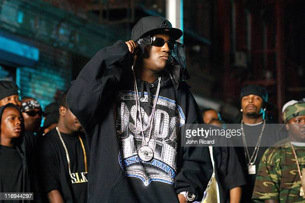 Young Jeezy during Bleu Davinci on Location for Streets on Lock Up featuring Young Jeezy and Fabolous Music Video September 21 2005 at Williamsburg...