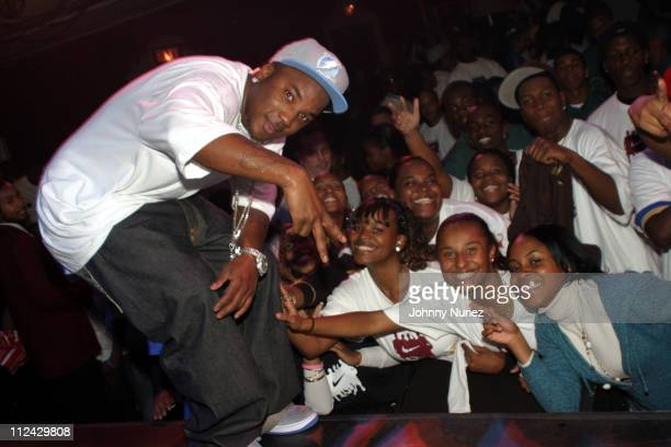Young Jeezy during Greg Anthony and Friends Present 'One Goal One Love One Fam' Project with Nike iD in New York City New York United States