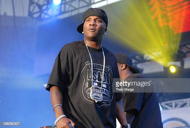 Young Jeezy during HOT 97's Summer Jam 2006 at Giants Stadium in E. Rutherford, New Jersey, United States.
