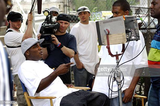 Young Jeezy during Young Jeezy on Location for Soul Survior Music Video August 11 2005 at Williamsburg Brooklyn in New York City New York United...