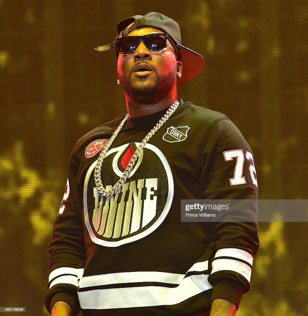 Trey Songz And Chris Brown In Concert - Atlanta, GA : News Photo
