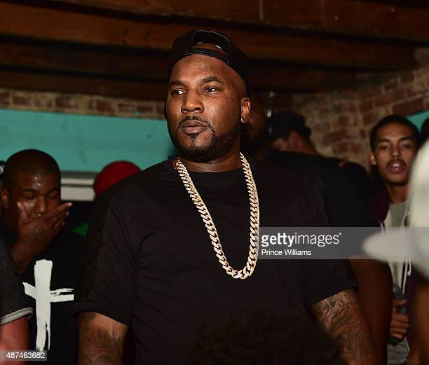 <<Young Jeezy Surprise Announcement>> at on August 31 2015 in Atlanta Georgia