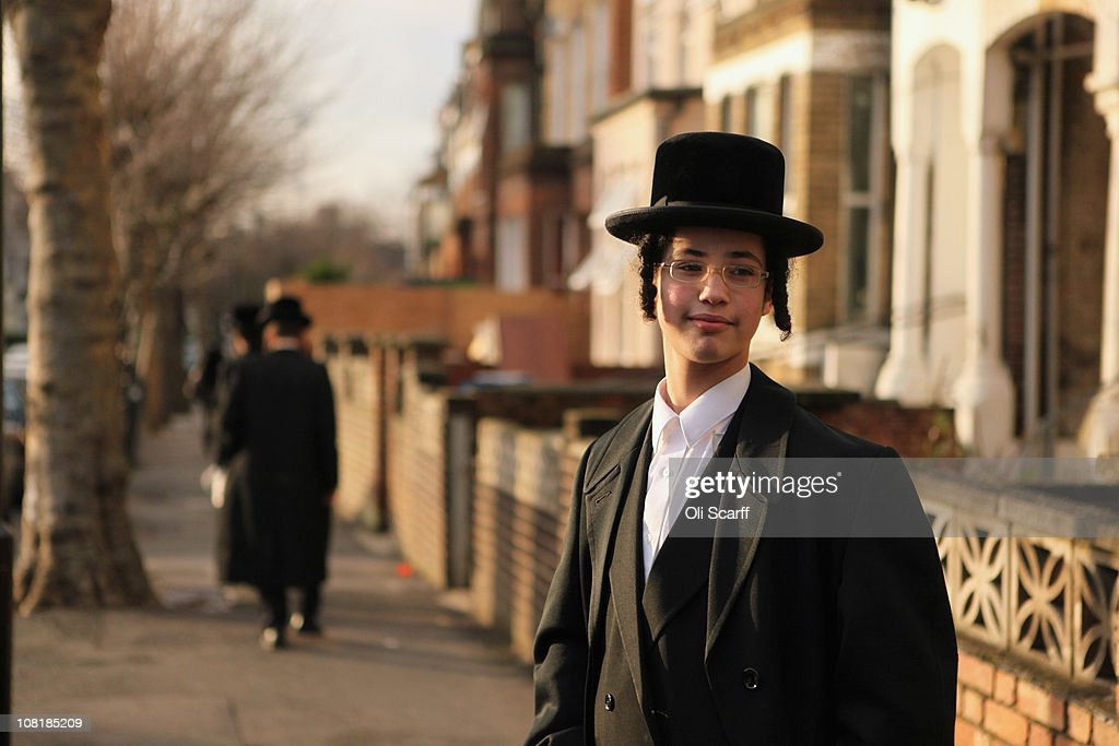 The Hasidic Jewish Community In Stamford Hill : News Photo