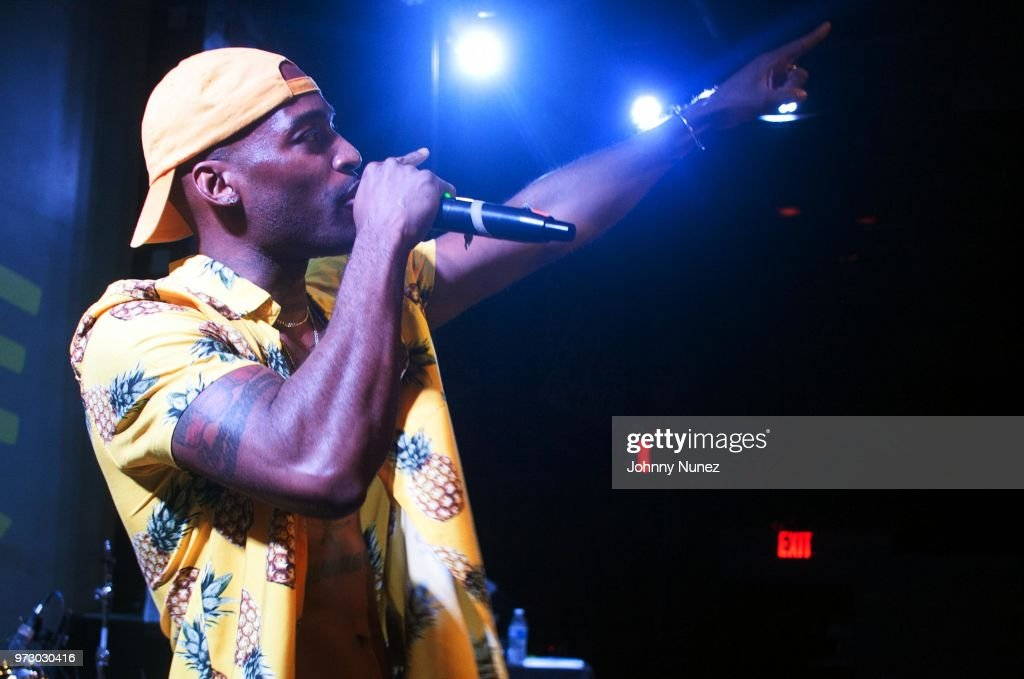 Young Jimster performs at S.O.B.'s on June 12, 2018 in New York City.