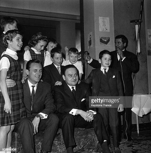 Young Jury Awarded René Goscinny And Albert Uderzo's Comic Book 'Astérix Le Gaulois' in Paris France on November 16 1962