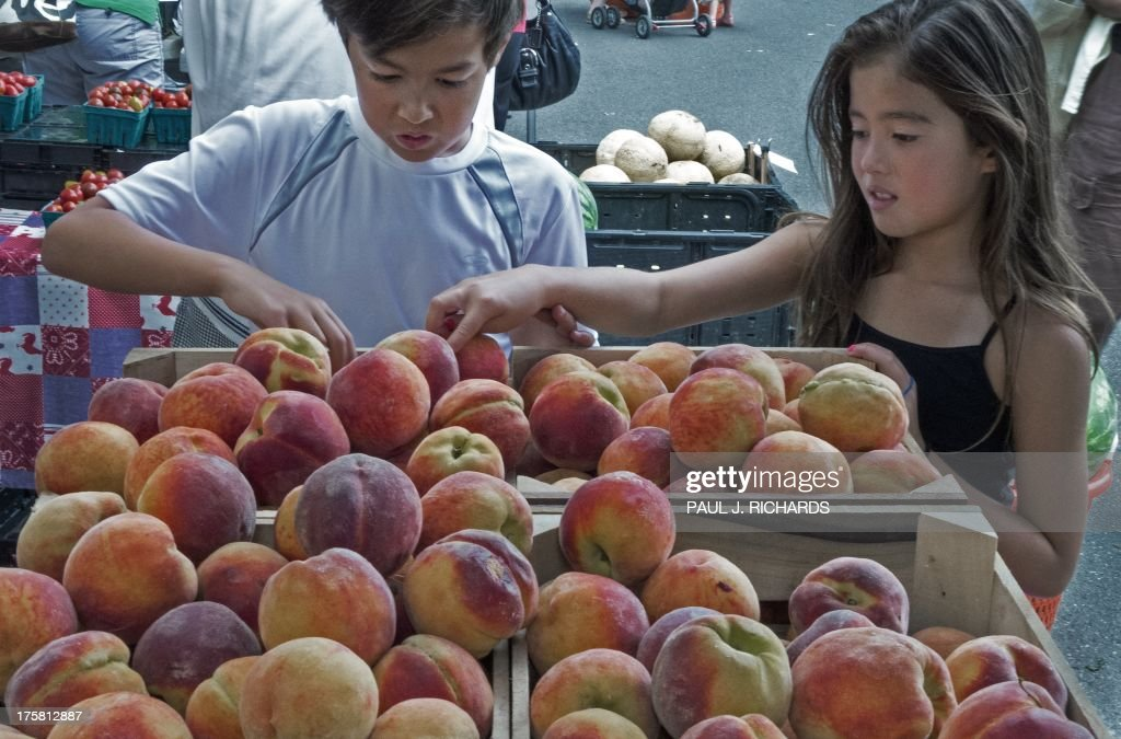 US-LIFESTYLE-FOOD-FRUITS & VEGETABLES : News Photo