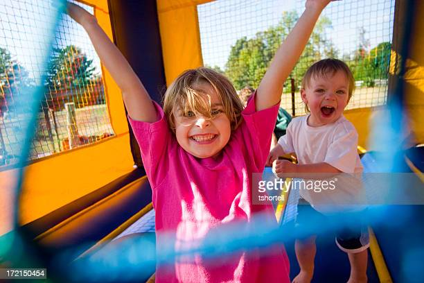 Young Kids Having a Great Time