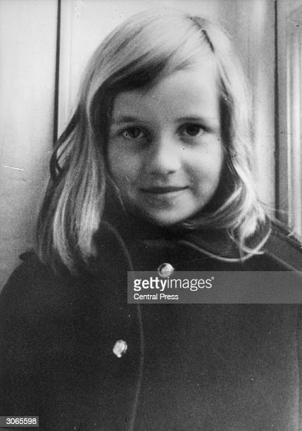 A young Lady Diana Spencer later the wife of Prince Charles circa 1965