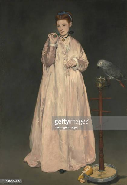 Young Lady in 1866 1866 Artist Edouard Manet