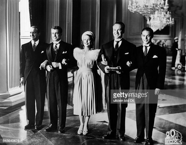 Young Loretta Actress USA * Scene from the movie 'Four Men and a Prayer'' with Richard Greene George Sanders David Niven and William Henry Directed...