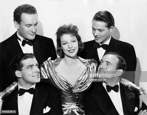 Young Loretta*Actress USAin the film 'Four Men and a Prayer' wtih George Sanders Richard Greene William Henry and David Niven USA 1938