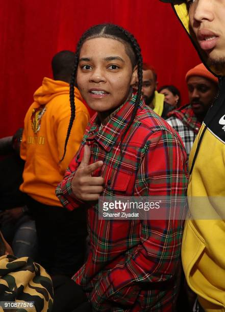 Young MA attends Beats x Migos x Grammy Event at Milk Studios on January 26 2018 in New York City