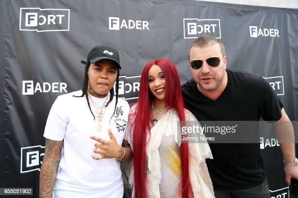 Young MA Cardi B and Rob Stone attend Day 9 of the 2017 SXSW Conference And Festivals on March 18 2017 in Austin Texas