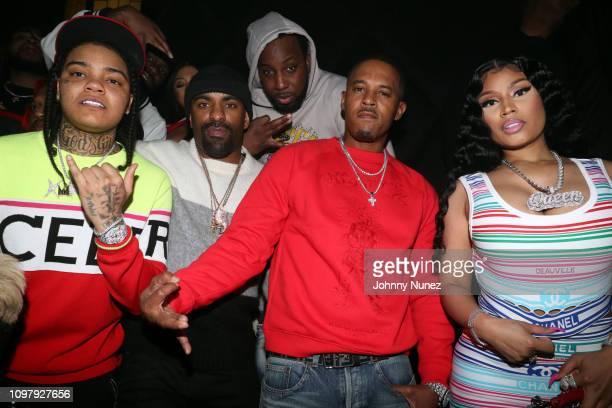 "Young MA DJ Clue Big BZ Kenneth ""Zoo"" Petty and Nicki Minaj attend Church On Sundays Hosted By Nicki Minaj And Phil The Mayor And DJ Clues Birthday..."