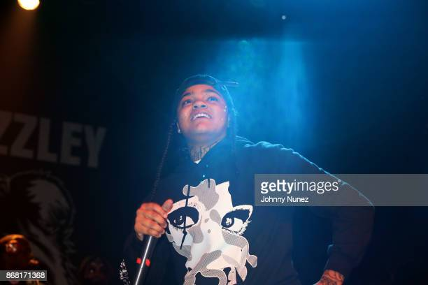 Young MA performs at Gramercy Theatre on October 29 2017 in New York City
