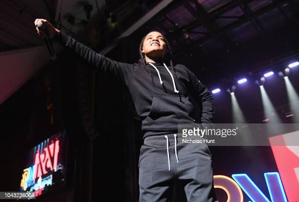 Young Ma performs onstage during Chance The Rapper to Headline Spotify's RapCaviar Live In Brooklyn in Partnership with Live Nation Urban and Verizon...