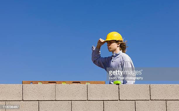 Young Male Brick Layer