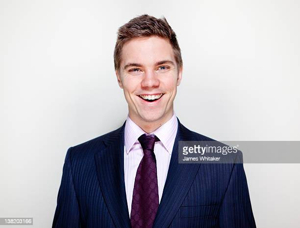 young male professional - kompletter anzug stock-fotos und bilder