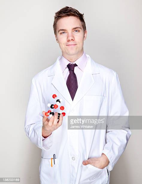 Young Male Scientist