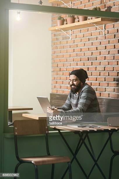 Young Man and Tablet