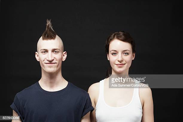 Young man and woman