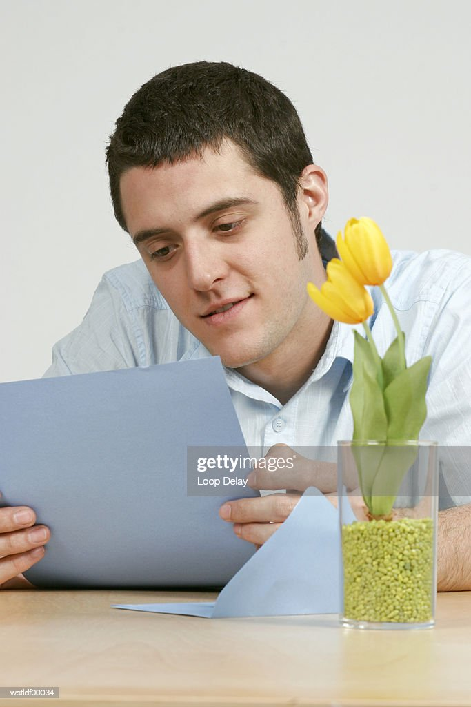 Young man, close up : Stock Photo